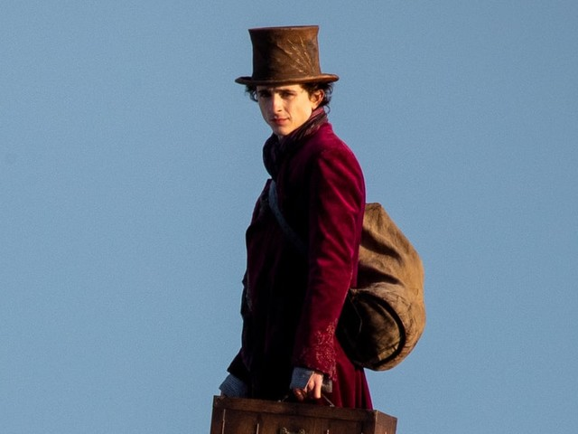 Here's Your First Look at Timothée Chalamet as Willy Wonka