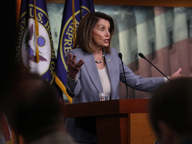 Pelosi says country is in a 'constitutional crisis'