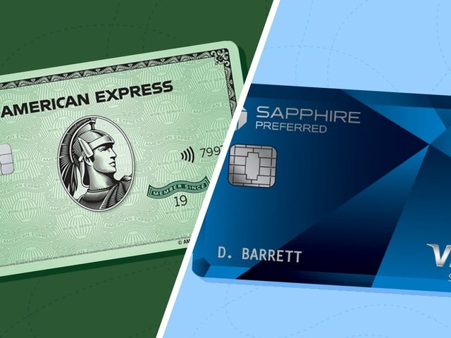 4 reasons I think the new Amex Green card is even better than the Chase Sapphire Preferred