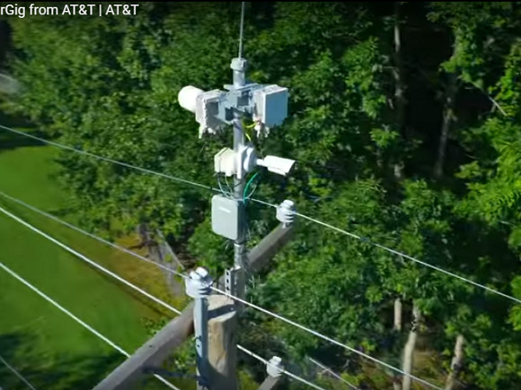AT&T conducts trials of AirGig powerline technology with Georgia Power, international utility