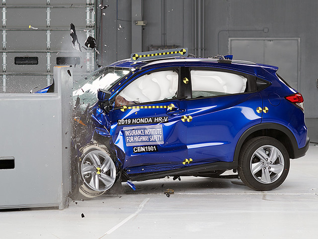 Honda HR-V earns 2019 safety award
