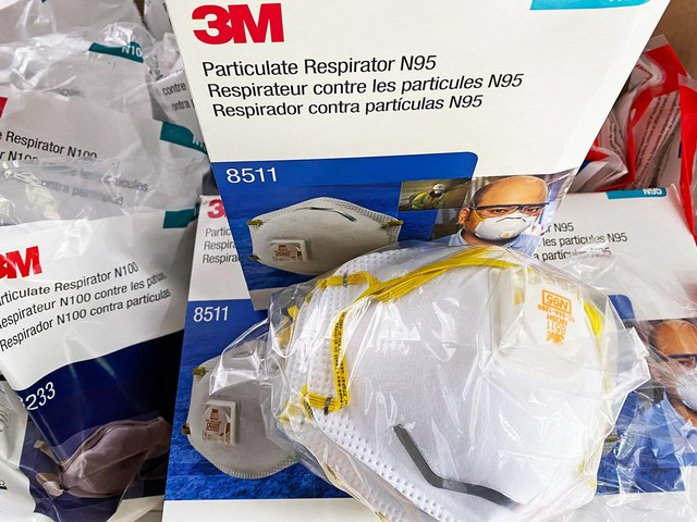Get 3M face masks and NIOSH-approved filters before Amazon remembers they're only for hospitals