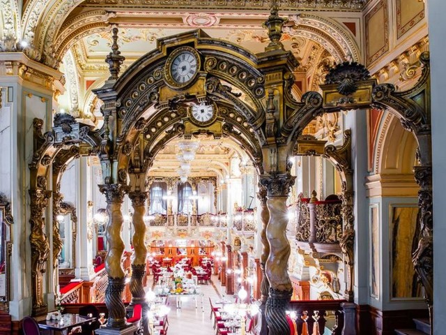 Inside the 'world's most beautiful cafe'