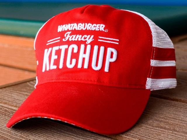 Here's how you can get this sweet Whataburger Fancy Ketchup lid at a Rangers game