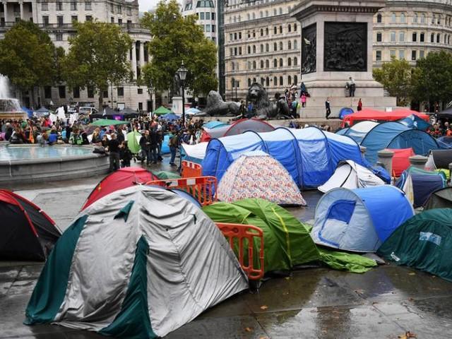 'Extinction Rebellion' decries city crackdown on London protests