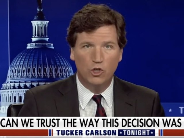 Tucker Carlson's reaction to Derek Chauvin's conviction was to cast doubt on the jurors who decided he murdered George Floyd