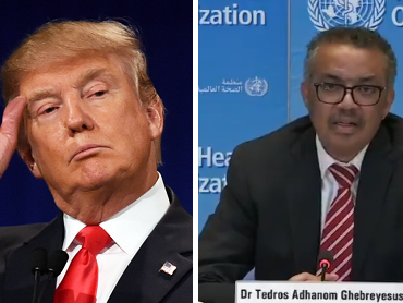 """""""You've Got 30 Days"""": Trump Torches Tedros In Scathing Letter Slamming """"Deadly"""" Failures"""