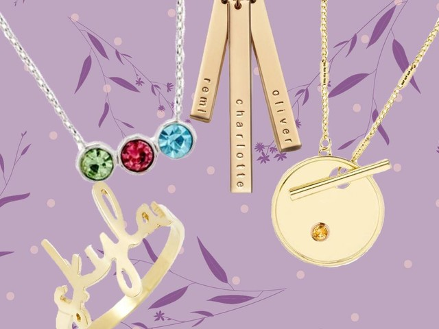 The Best Personalized Jewelry Finds for Mother's Day