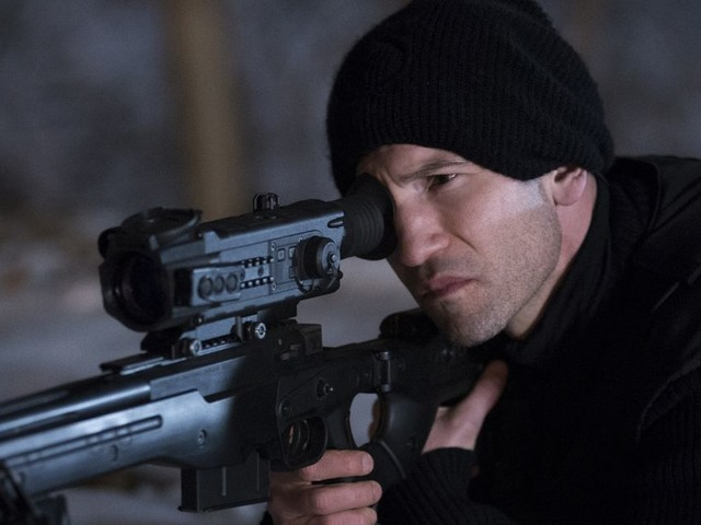 Netflix's Punisher would be timely if it had anything coherent to say about gun violence