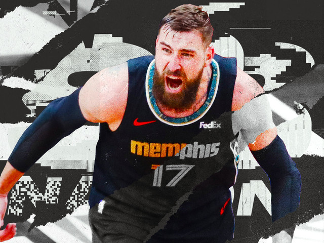 How Jonas Valanciunas stands in the dunker's spot without standing still
