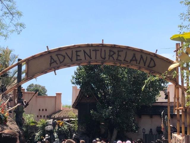 New Adventureland Marquee Installed at Disneyland Park