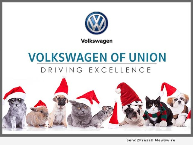 Santa Paws is coming to Volkswagen of Union