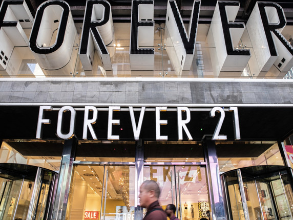 'Retail Apocalypse' Continues: Forever 21 Files For Bankruptcy, 30,000 Jobs At Risk