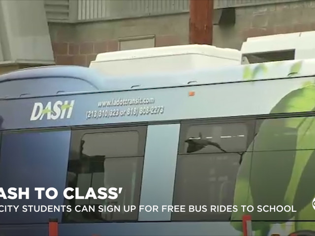 Eyewitness This: DASH offering free bus rides to school for L.A. students