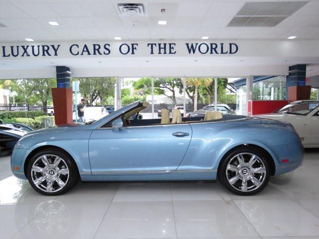 2007 Bentley Continental--GTC Convertible