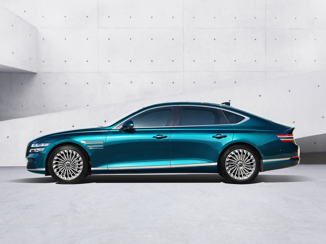 This Just In: Genesis Premieres First-Ever EV Model: Electrified G80