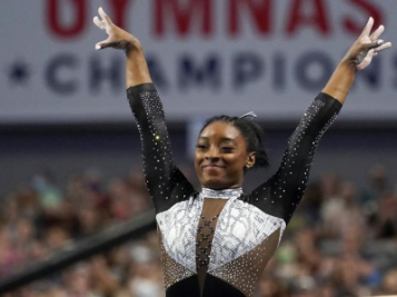Simone Biles Is Out Here GOAT'N Again! Wins Record 7th U.S. Gymnastics Title, And She's Helping Train Other Olympic Hopefuls Too!