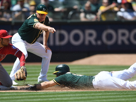A's Beat The Angels In 11 Innings, 6-5