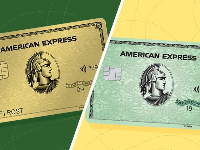We compared the Amex Gold and Amex Green cards — the best option for you depends on where you spend the most