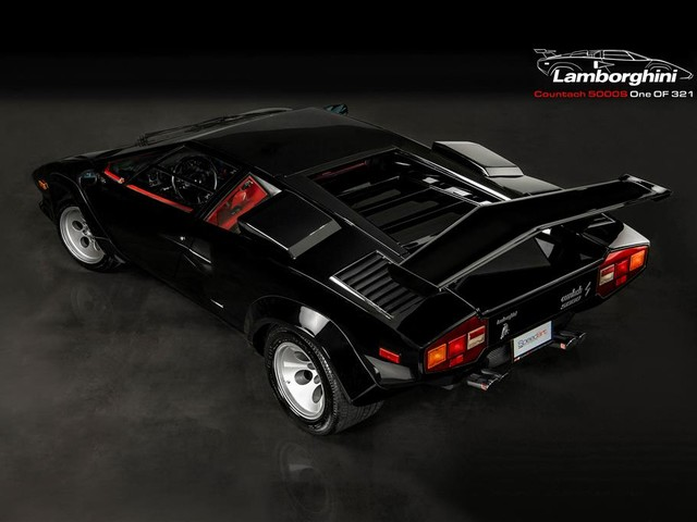 1984 Lamborghini Countach--LP--5000S