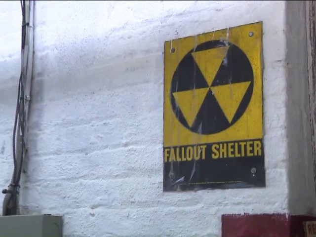 "NYC Department of Education removes ""Fallout Shelter"" signs"
