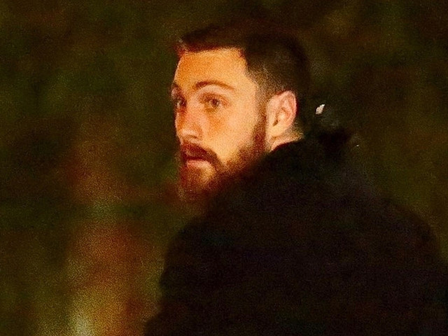 Aaron Taylor-Johnson Steps Out for Dinner in West Hollywood