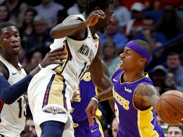 Five takeaways from the Lakers' 128-125 loss to the New Orleans Pelicans