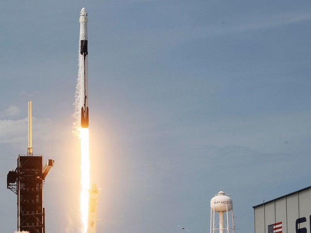 SpaceX Takes One Giant Leap