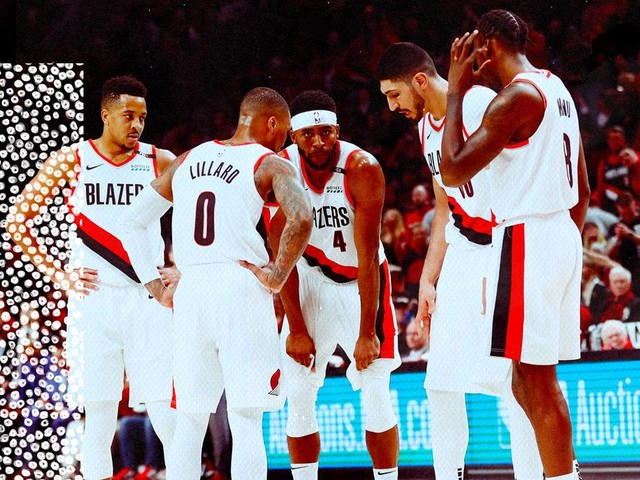 The Blazers have no cap space and will lose free agents. Here's how they get better
