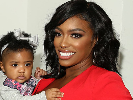Porsha Williams Shares Remarkable Look-A-Like Throwback Pic Of Herself & Baby PJ on Instagram