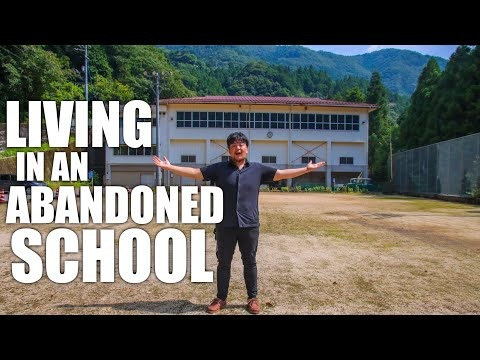 This Man Lives in an Abandoned Japanese School