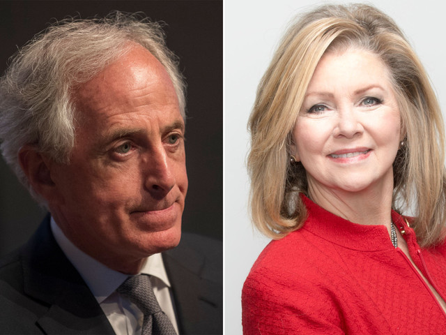 Corker gives tepid endorsement for GOP candidate running to replace him