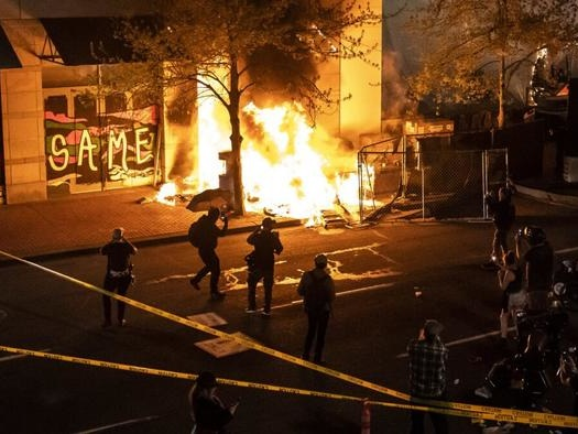 """Portland Mayor Belatedly Urges Residents To Help """"Unmask"""" Rioters, Stops Short Of Condemning Antifa"""