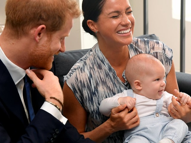 Archie Mountbatten-Windsor Was All Smiles and Giggles on His Royal Tour Debut