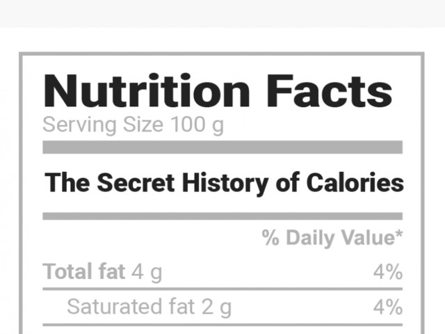 We've been obsessed with calories for 100 years because of a book you've never heard of, but we're finally moving on
