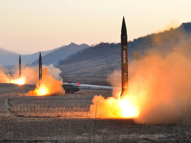 Satellite Footage Shows North Korea Preparing Ballistic Missile Launch Ahead Of US Naval Drills