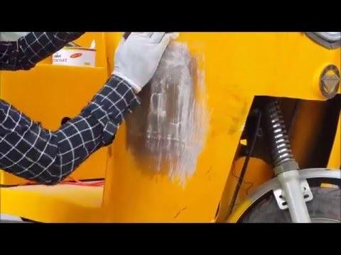 Fiberglass repair- How to easily repair fiberglass ? - YouTube