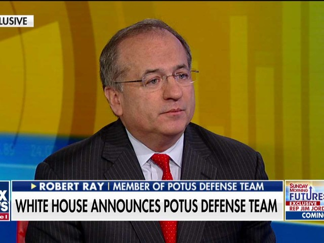 Member of Trump's defense team Robert Ray on impeachment: Process has been 'partisan and therefore illegitimate'