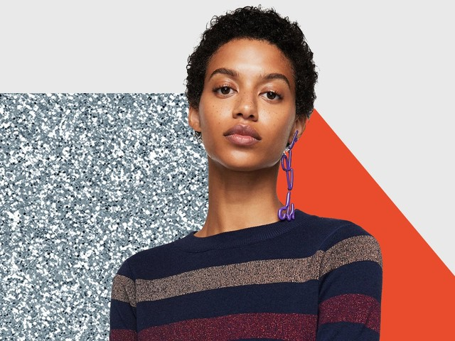 Stripes, Brights, Cardigans, & More Of Fall's Coolest (& Coziest) Knitwear