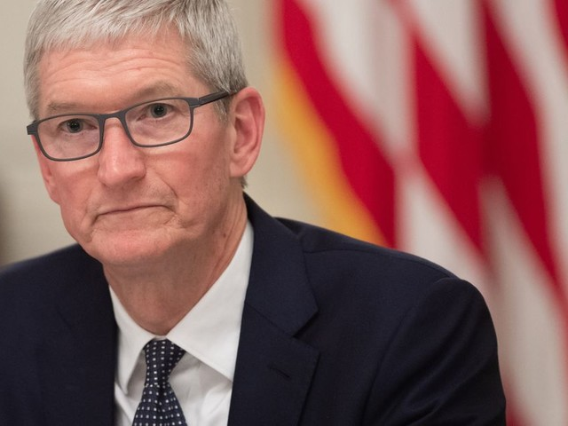 'The time is now to have a federal privacy bill,' says Tim Cook