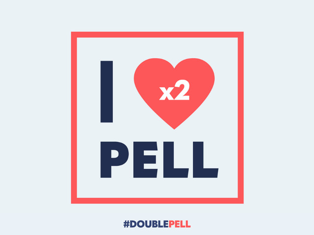 #DoublePell campaign set to heat up this fall