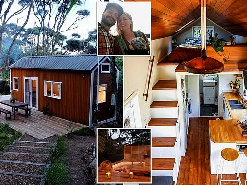 Couple design and build their own tiny house in New Zealand
