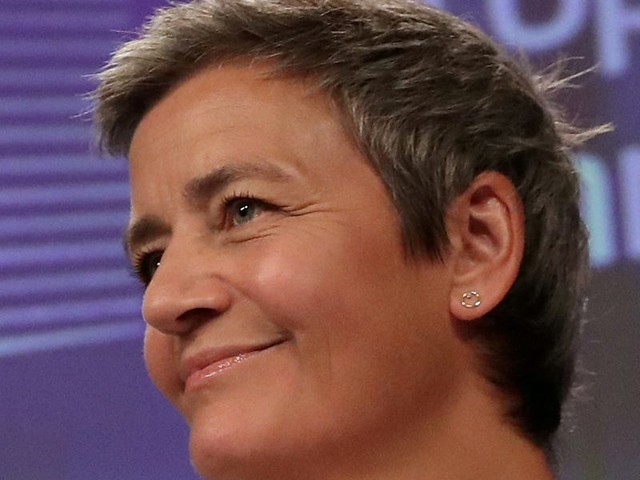 EU competition commissioner Margrethe Vestager says there's 'no limit' to how AI can benefit humans