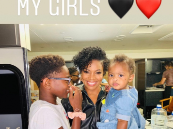 Gabrielle Union Is Not With The Foolery That Ensued After D. Wade Captioned Picture Of Son With Wife & Daughter, 'My Girls'