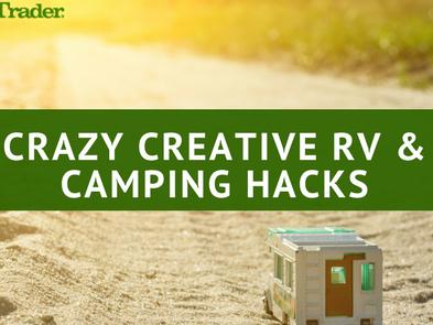 Crazy Creative RV & Camping Hacks