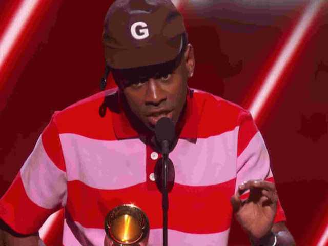 Tyler the Creator calls out the Grammys for racism over 'Rap Album' win