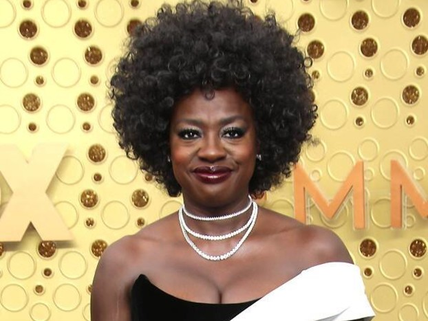 Viola Davis Proves She's a Style Icon After Wearing an Elegant Gown With Sneakers at the 2019 Emmys