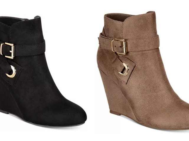 BOGO Boots & Booties at Macy's – ZiGi Soho Keylie Wedge Booties $39.99 for 2 Shipped! (Reg.$69 each)