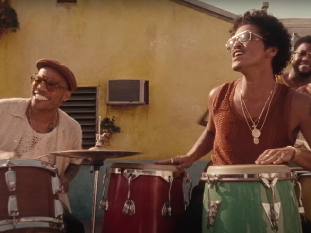 Bruno Mars and Silk Sonic Take Their '70s Throwback to the Roller Disco With 'Skate'