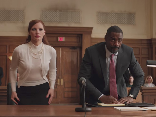 Watch: Idris Elba, Jessica Chastain, and Michael Cera play a crazy game of poker in 'Molly's Game' trailer